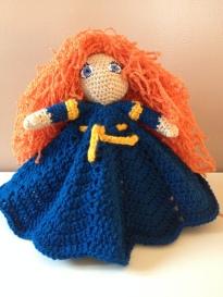 Brave's Merida Inspired Lovey