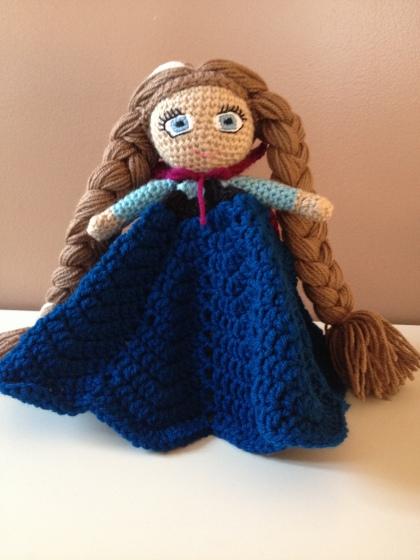 Frozen's Anna Inspired Lovey