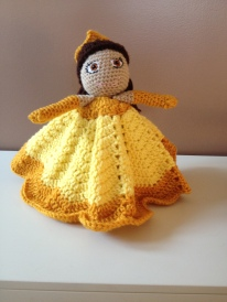 Beauty and the Beast's Belle Inspired Lovey