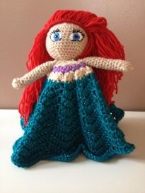 The Little Mermaid's Ariel Inspired Lovey
